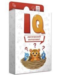 """Игра карточная IQ """"Логический интеллект"""", 40 карточек"""