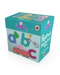 Peppa's Alphabet Box (8-board book set) (количество томов: 8)