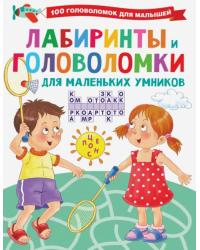 Лабиринты и головоломки для маленьких умников