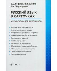 Русский язык в карточках: мнемосхемы для школьников