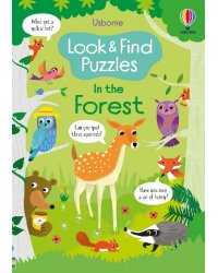 Look and Find Puzzles. In the Forest