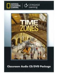 Audio CD. Time Zones 4. Classroom Audio CD and DVD (+ DVD)