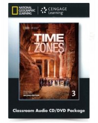Audio CD. Time Zones 3. Classroom Audio CD and DVD (+ DVD)