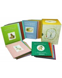 Peter Rabbit 1-23 Colour Library (23-book box set) (количество томов: 23)