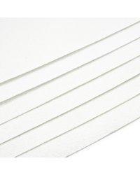 Фетр жесткий, 180 г/м2, 1,4 мм, цвет 10 (белый), 10 листов