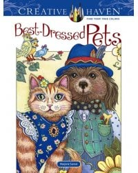 Best-Dressed Pets. Coloring Book