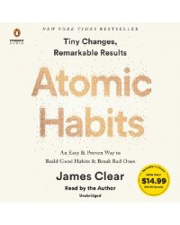 Audio CD (MP3). Atomic Habits. An Easy & Proven Way to Build Good Habits & Break Bad Ones