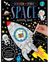 Scratch and Sparkle Space. Activity Book