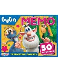 """Карточная игра """"Мемо. Буба"""" (50 карточек)"""