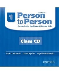 Audio CD (MP3). Person to Person 1. Communicative Speaking and Listening Skills (количество CD дисков: 2)