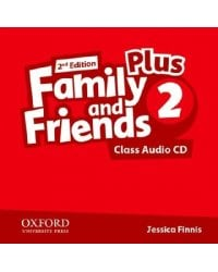 Audio CD (MP3). Family and Friends 2 Plus