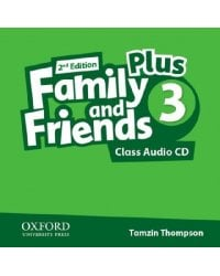 Audio CD (MP3). Family and Friends 3 Plus