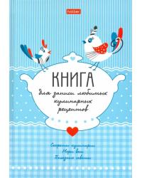 """Книга для записи рецептов """"Птички"""", А5, 80 листов"""