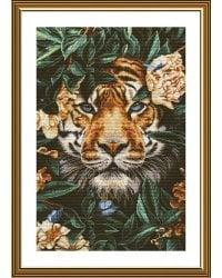 """Набор для вышивания Нова Слобода """"Рай диких джунглей"""", 28x42 см (арт. РЕ3513)"""