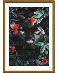 """Набор для вышивания Нова Слобода """"Королева диких джунглей"""", 28x42 см (арт.РЕ3518)"""