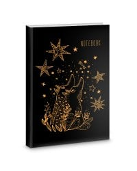 "Книга для записей ""Любуясь звездами"", А5, 80 листов"