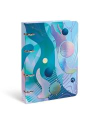 """Тетрадь со сменным блоком """"Elysian sphere"""", А5, 120 листов, клетка"""