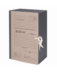 """Папка архивная """"Staff"""", А4, """"Форма 21"""", 150 мм, переплетный картон/бумвинил, гибкий корешок, до 1500 листов"""