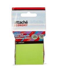 """Стикеры """"Attache Economy"""", 51x51 мм, 100 листов, неоновый зеленый"""