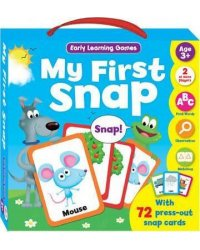Early Learning Games: My First Snap. 72 cards