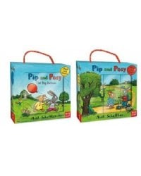 Pip and posy book and blocks set