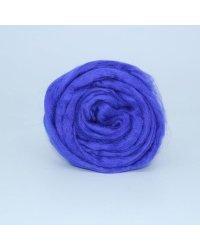"""Шерсть для валяния ТРО """"Гребенная лента"""", 50 грамм, цвет: 0078 фиолетовый"""