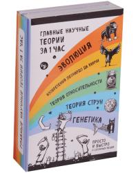 Главные научные теории за 1 час (комплект из 5 книг) (количество томов: 5)