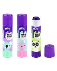 """Клей-карандаш """"Фиолетовый"""", 9 грамм"""