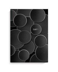 """Ежедневник недатированный """"Diary. Черные шары"""", A5, 80 листов"""