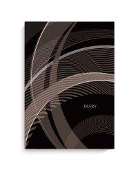 """Ежедневник недатированный """"Diary. Линии на коричневом"""", A5, 80 листов"""