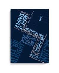 """Ежедневник недатированный """"Diary. Лозунги"""", A5, 80 листов"""