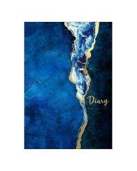 """Ежедневник недатированный """"Diary. Оттенки синего"""", A5, 80 листов"""