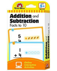 Learning Line Flashcards. Beginning Addition and Subtraction Facts to 10