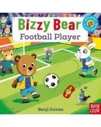 Bizzy Bear. Football Player. Board Book
