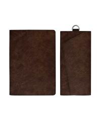 """Набор подарочный """"Шеврет"""" (обложка для паспорта, ключница), коричневый"""