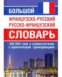 Большой французско-русский русско-французский словарь 380 000 слов и словосочетаний с транскрипцией