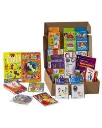 Посылка малышу 7-10 лет: Изучение английского языка. Уровень 4. Большой комплект IQ-игр