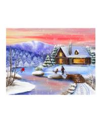 """Алмазная мозаика """"Чудесная зима"""""""