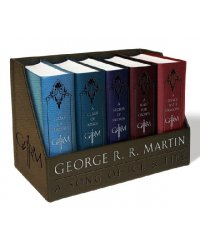 George R. R. Martin's a Game of Thrones Leather-Cloth Boxed Set (количество томов: 5)