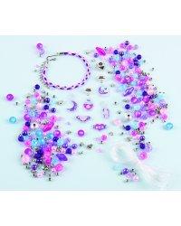 MAKE IT REAL Комплект браслетов с кристаллами Swarovski
