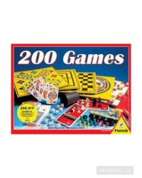 PIATNIK Набор настольных игр 200 игр