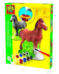 SES Набор для литья из гипса Лошадь