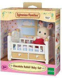 SYLVANIAN FAMILIES Кролик малыш и кровать