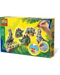 SES Набор для литья из гипса Динозавры