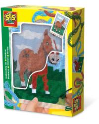 SES Набор для вышивания Лошадь