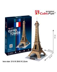 CUBICFUN 3D пазл Эйфелева Башня (Париж)
