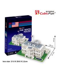 CUBICFUN 3D пазл Белый дом, США