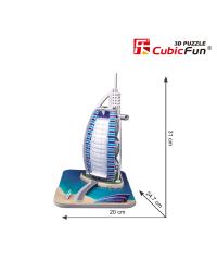 CUBICFUN 3D пазл Отель Бурж эль Араб