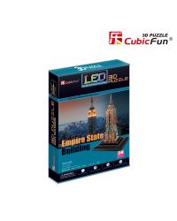 CUBICFUN 3D Эмпайр Стейт Билдинг c LED