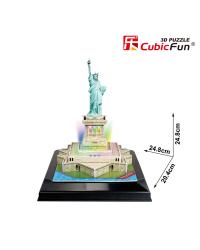 CUBICFUN 3D пазл Статуя Свободы c LED